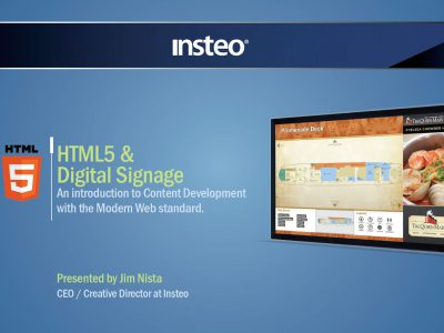 PDF - HTML5 and Digital Signage